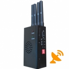 High Power Portable GPS & Cell Phone Signal Blocker Jammer 20M