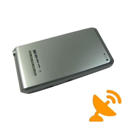Cellphone Style Cell Phone Jammer & GPS Signal Blocker 10M