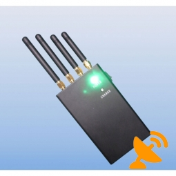 4 Antenna Cell Phone & Wifi Jammer 20M