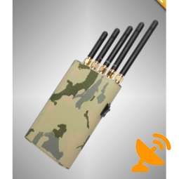 Handheld Mobile Phone GPS Wifi Jammer Blocker 15M
