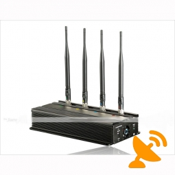 Desktop Car Mobile Phone Jammer 50M