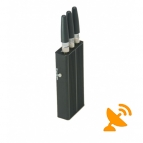 3 Antenna Mini Portable GPS & Cell Phone Jammer 5M