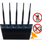 3G Adjustable Cell Phone Signal Jammer 25M