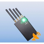 4 Antenna Mobile Phone & Wifi Jammer 20M