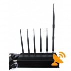 Cell Phone + Lojack + GPS Multifunctional Jammer 40M