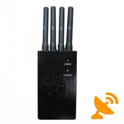 Portable High Power 3G 4G Wimax Cell Phone Jammer 15M