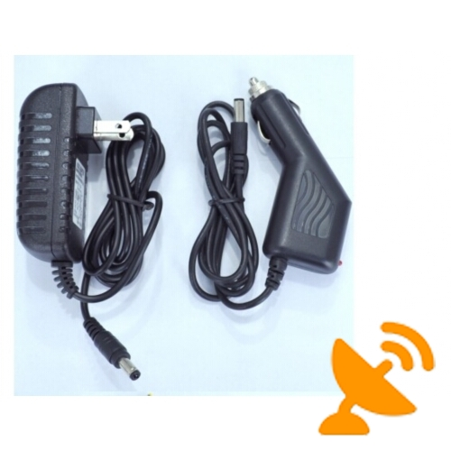 4 Antenna Handheld Cell Phone & Wifi Jammer Blocker 20M - Click Image to Close