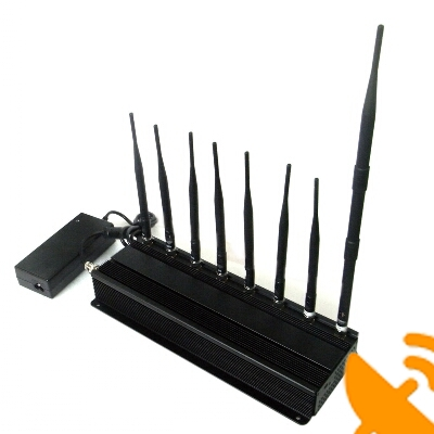 8 Antenna All in one for all Cellular,GPS,WIFI,RF,Lojack Jammer system 60M - Click Image to Close