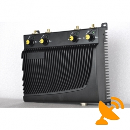 Adjustable Mobile Phone & GPS Jammer with Remote Control 40M