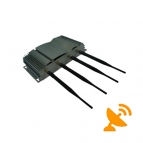 4 Antennas Cell Phone Jammer 30M