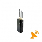3 Antenna Wireless Video & 2.4G & Bluetooth & Wifi Jammer 15M