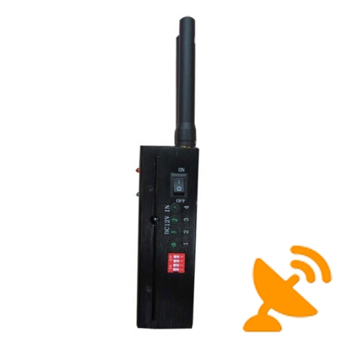High Power Portable GPS & Cell Phone Signal Blocker Jammer 20M - Click Image to Close