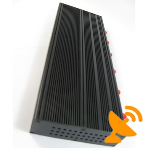 6 Antennas Desktop CellPhone & GPS & Wifi Jammer 20M - Click Image to Close