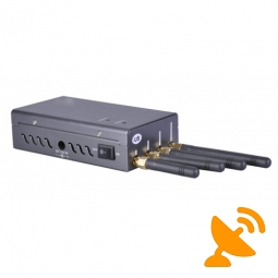 Portable Mobile Jammer with GPS L1 Wifi Signal 15M