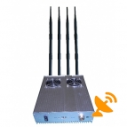 5 Antenna 3G Cell Phone & WIFI Jammer 50M