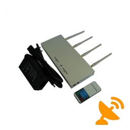 Cell Phone Signal Jammer with Remote Control 30M