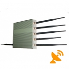 6 Antenna Cell Phone & GPS & Wifi Jammer 40M