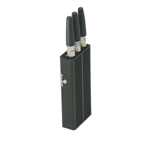 Cell Phone Jammer >> 3 Antenna Mini Portable Gps Cell Phone Jammer 5m